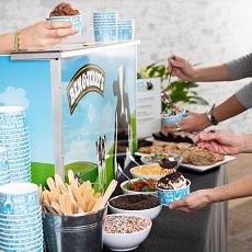 Ice Cream Sundae Bar Catering
