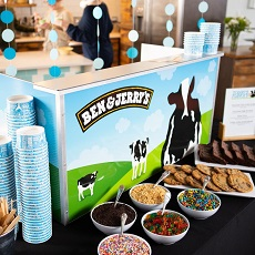 Ice Cream Catering for Birthday Parties