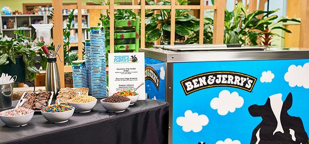 Ice Cream Sundae Bar Catering | Ben & Jerry's San Francisco