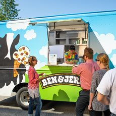 Ben & Jerry's Ice Cream Catering Trucks
