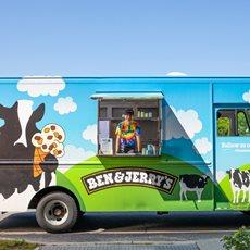 Ben & Jerry's Ice Cream Catering Trucks